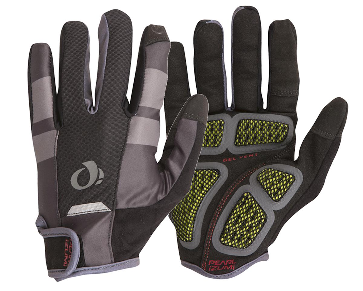 Pearl Izumi PRO Gel Vent Full Finger Glove (Black/Grey) (L)