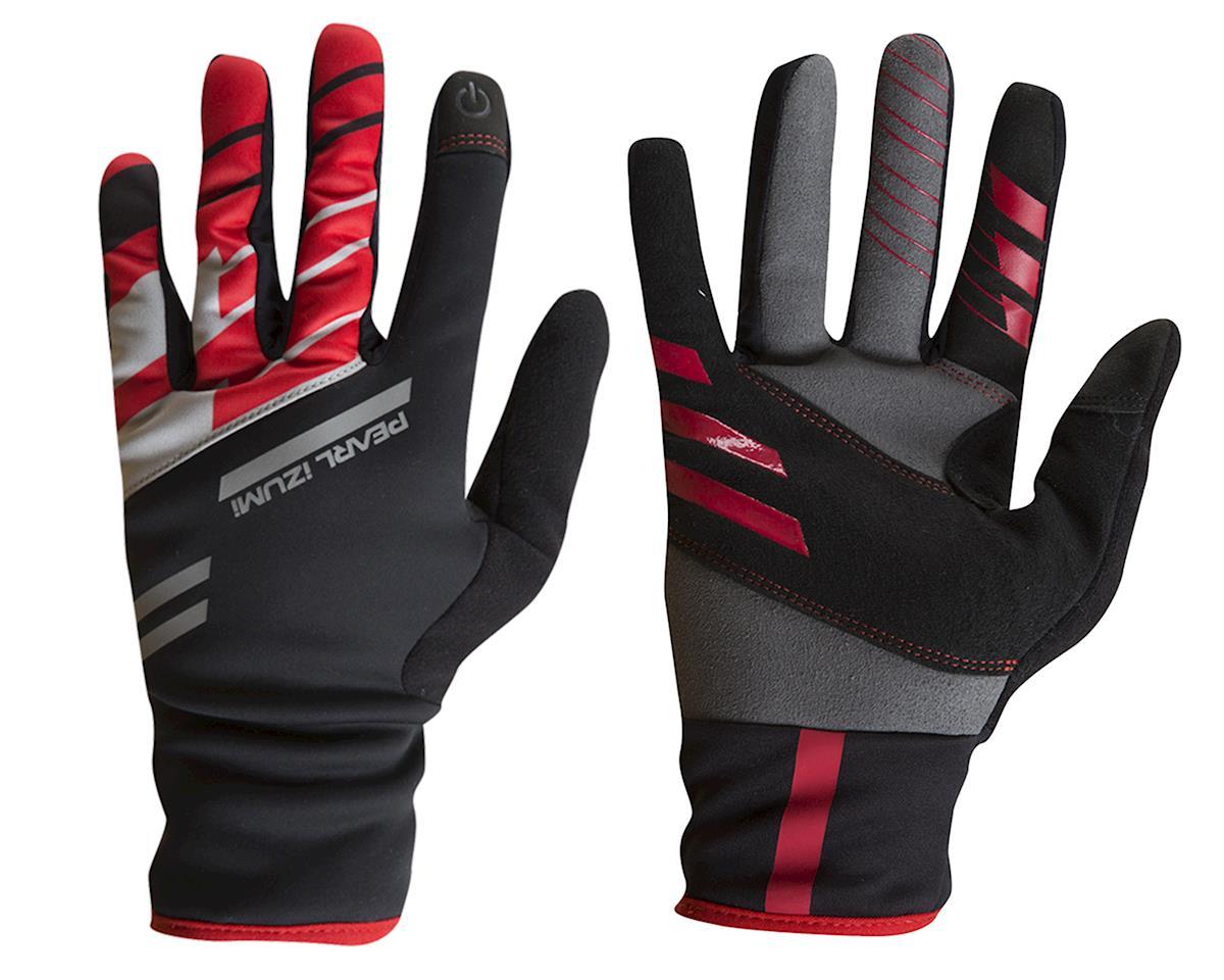 Pearl Izumi PRO Softshell Lite Gloves (Black/Red) (XS)