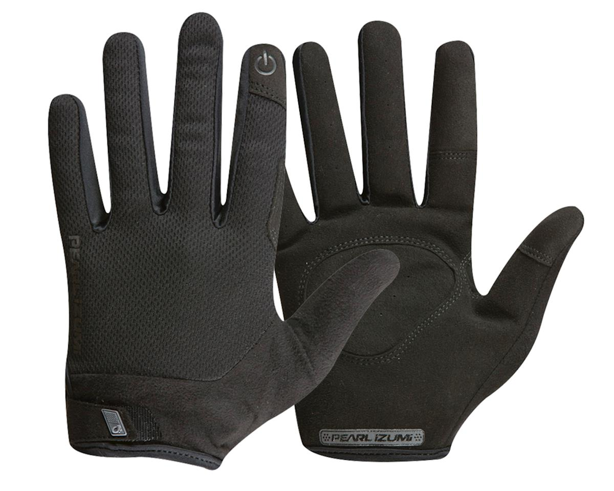 Pearl Izumi Attack Full Finger Gloves (Black) (L)