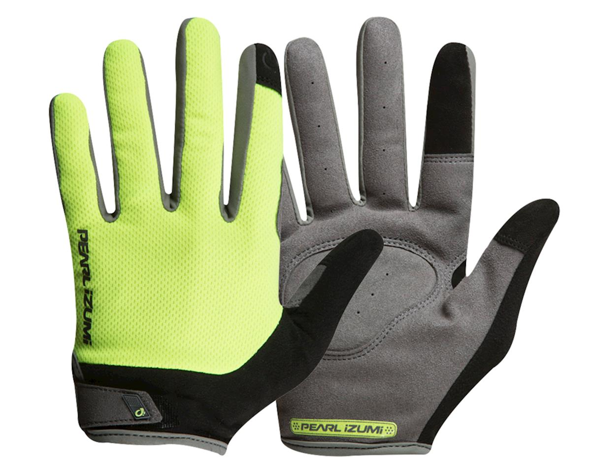 Pearl Izumi Attack Full Finger Gloves (Screaming Yellow) (L)