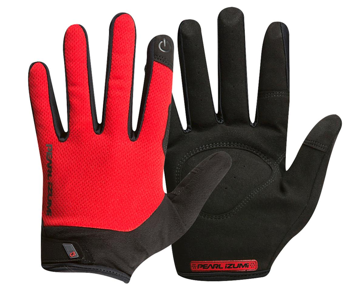 Pearl Izumi Attack Full Finger Glove (Torch Red) (S)