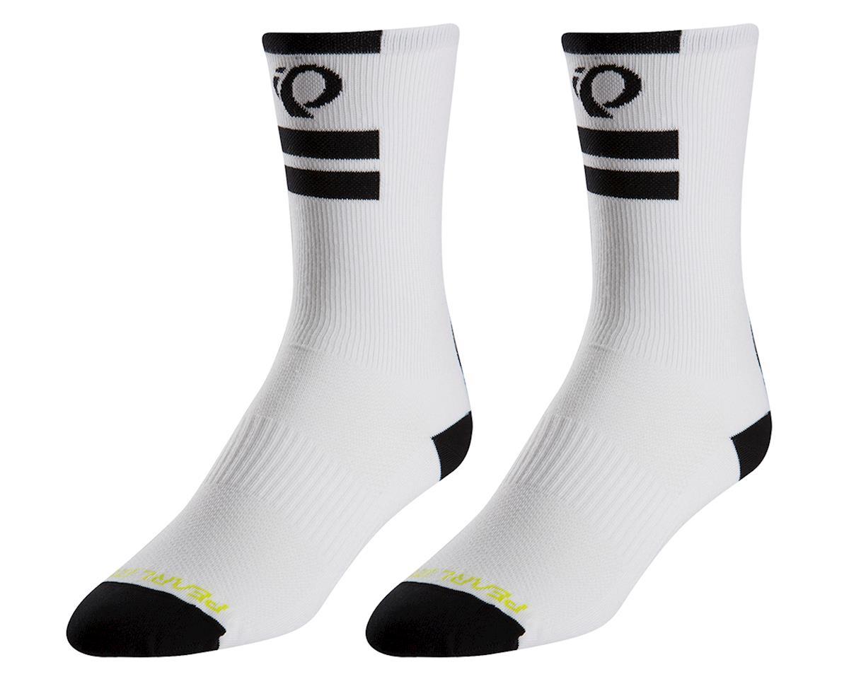 Pearl Izumi Elite Tall Sock (White) (M)