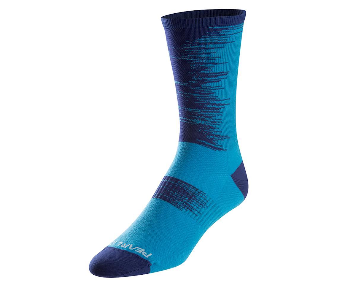 Pearl Izumi Elite Tall Sock (Blue Depths) (L)