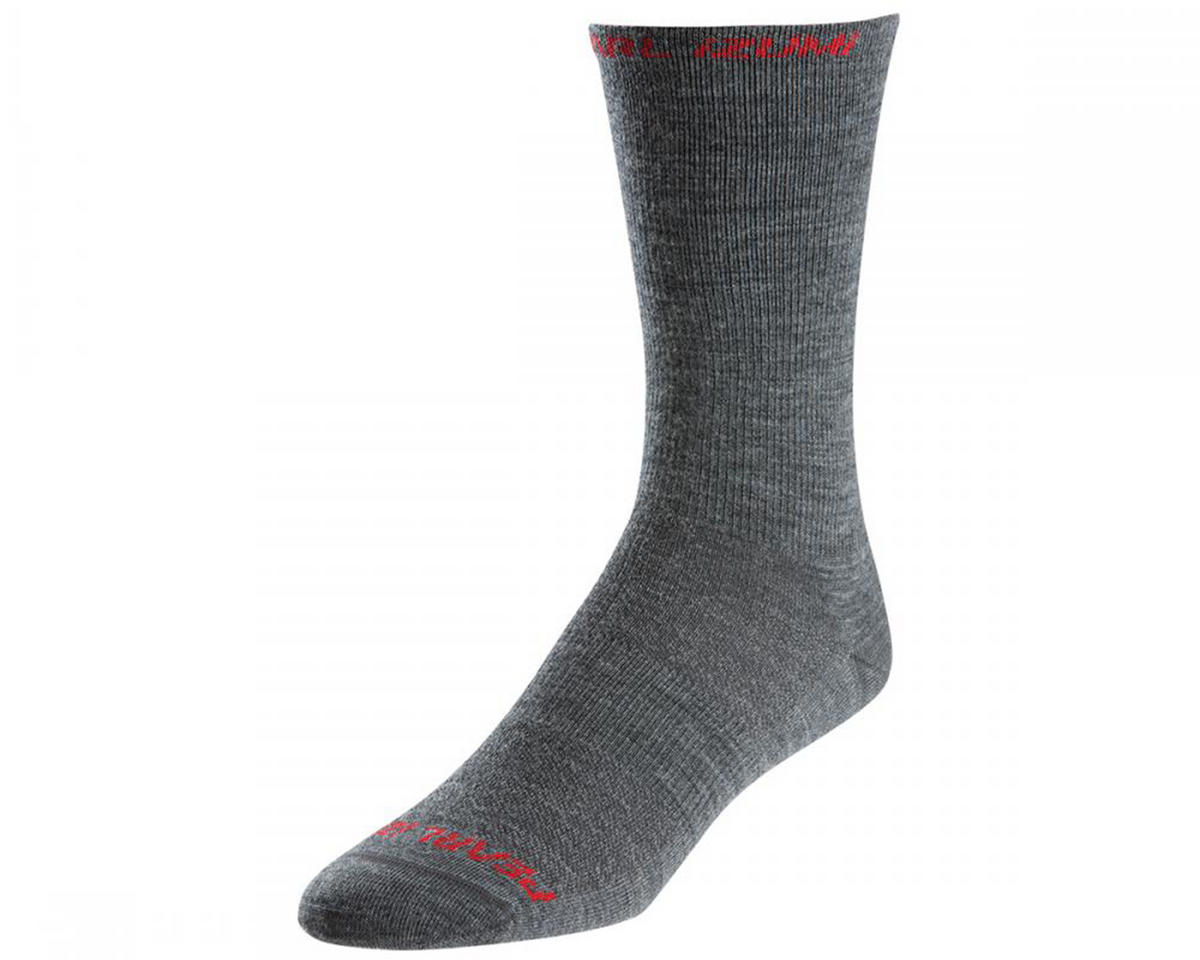 Pearl Izumi Elite Tall Wool Cycling Socks (Shadow) (S)