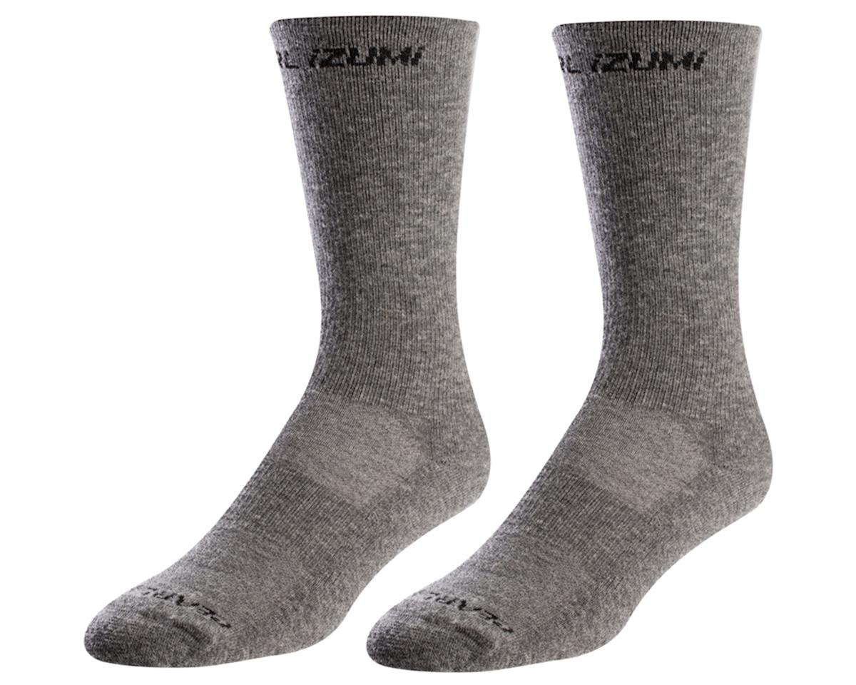 Pearl Izumi Merino Thermal Wool Sock (Smoked Pearl Core) (XL)