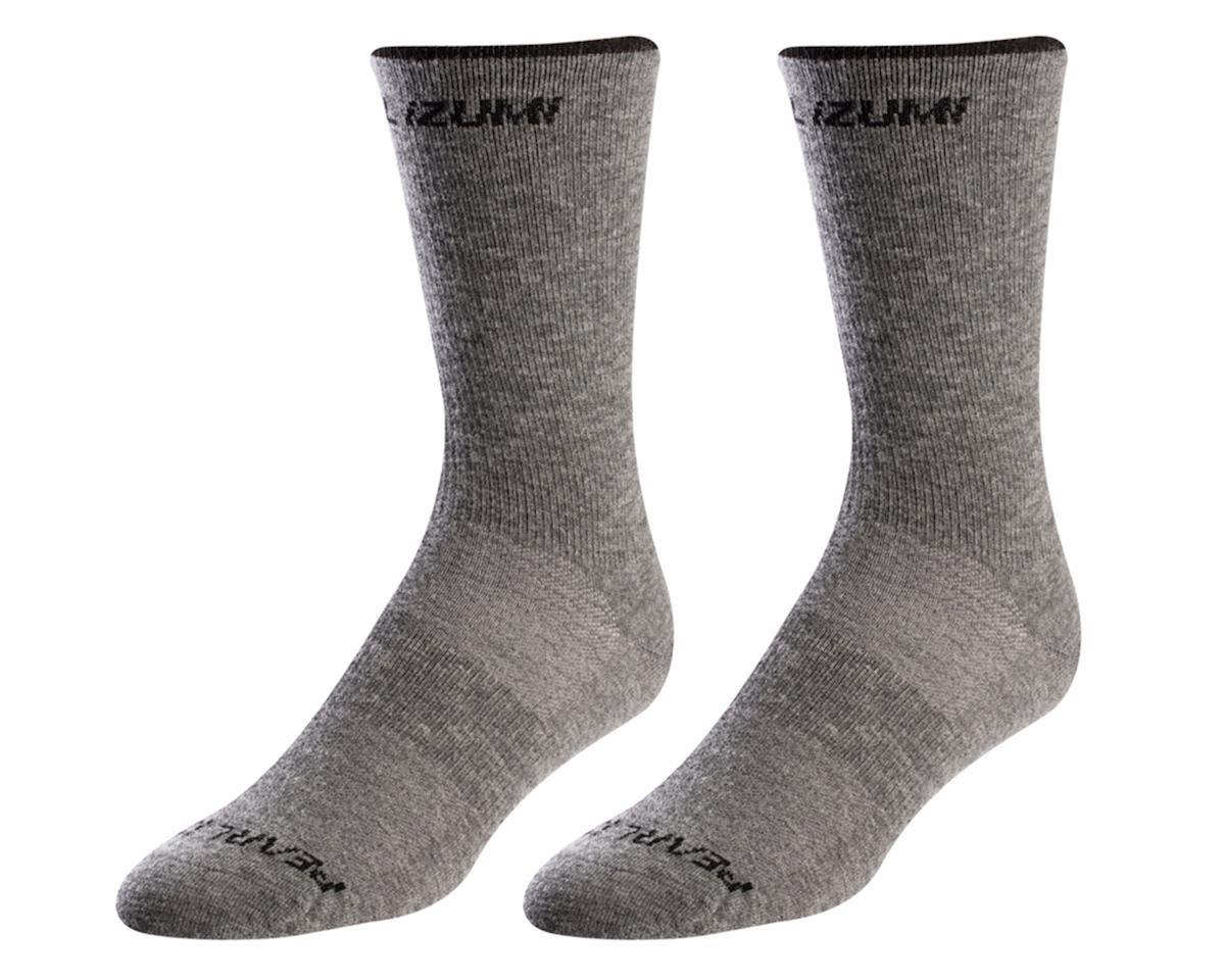 Pearl Izumi Merino Wool Tall Sock (Smoked Pearl Core) (M)