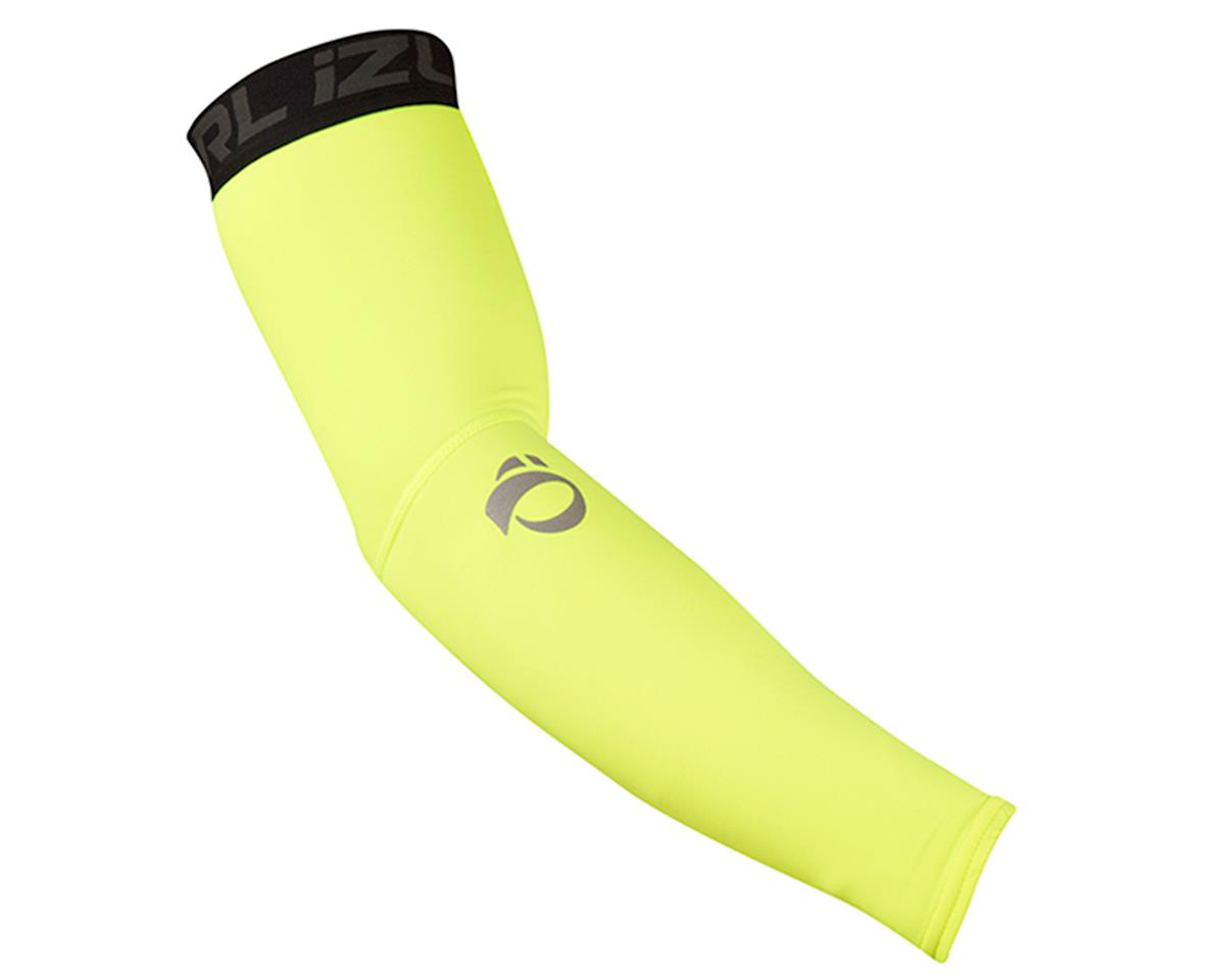 Pearl Izumi Elite Thermal Cycling Arm Warmers (Screaming Yellow) (S)