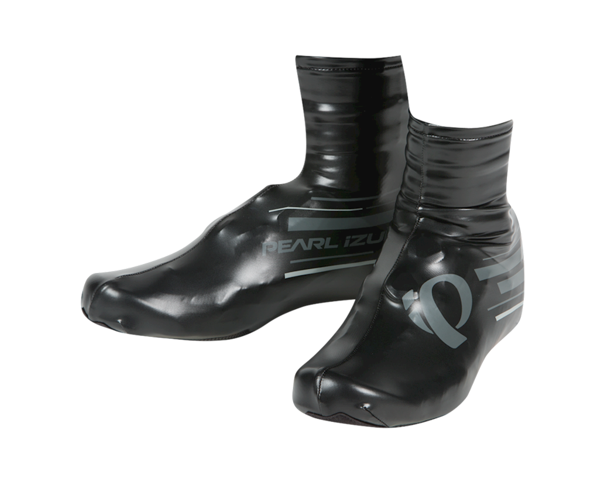 Pearl Izumi P.R.O. Barrier Lite Shoe Cover (BLACK/SHADOW GREY) (L)