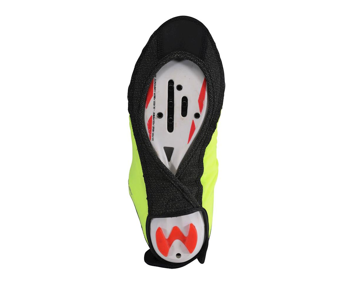 Image 2 for Pearl Izumi P.R.O. Softshell WxB Shoe Covers (Screaming Yellow/Black) (S(<39 Euro))