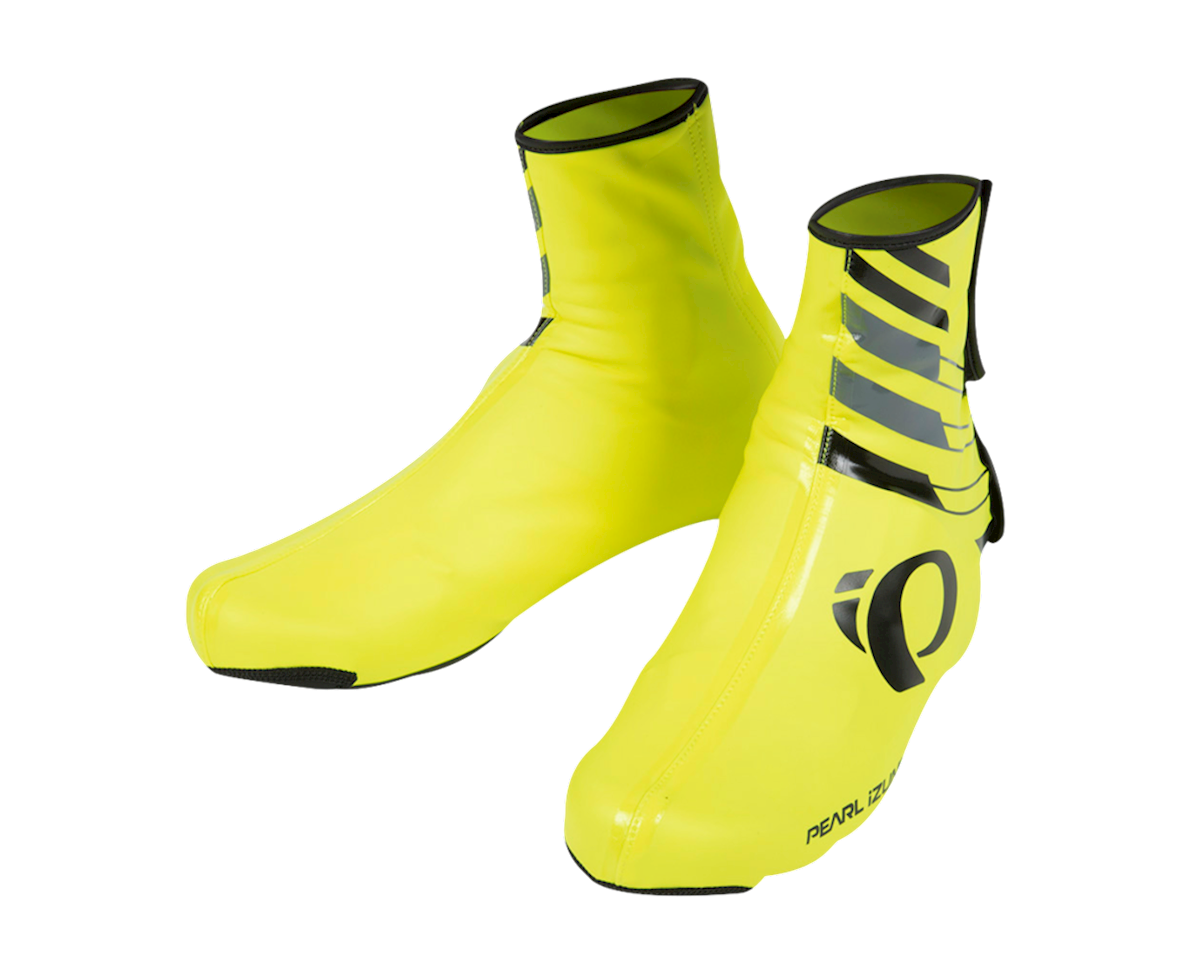 Pearl Izumi PRO Barrier WxB Shoe Cover (Screaming Yellow/Black) (L)