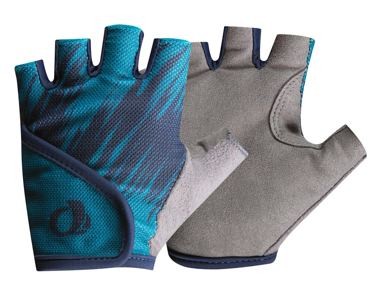 Image 1 for Pearl Izumi Kids Select Gloves (Teal/Navy Slash) (S)