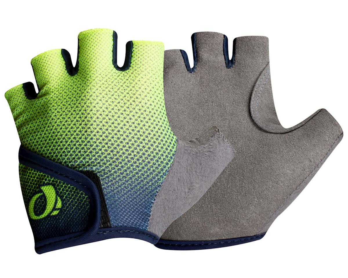Image 1 for Pearl Izumi Kids Select Gloves (Navy/Yellow Transform) (M)