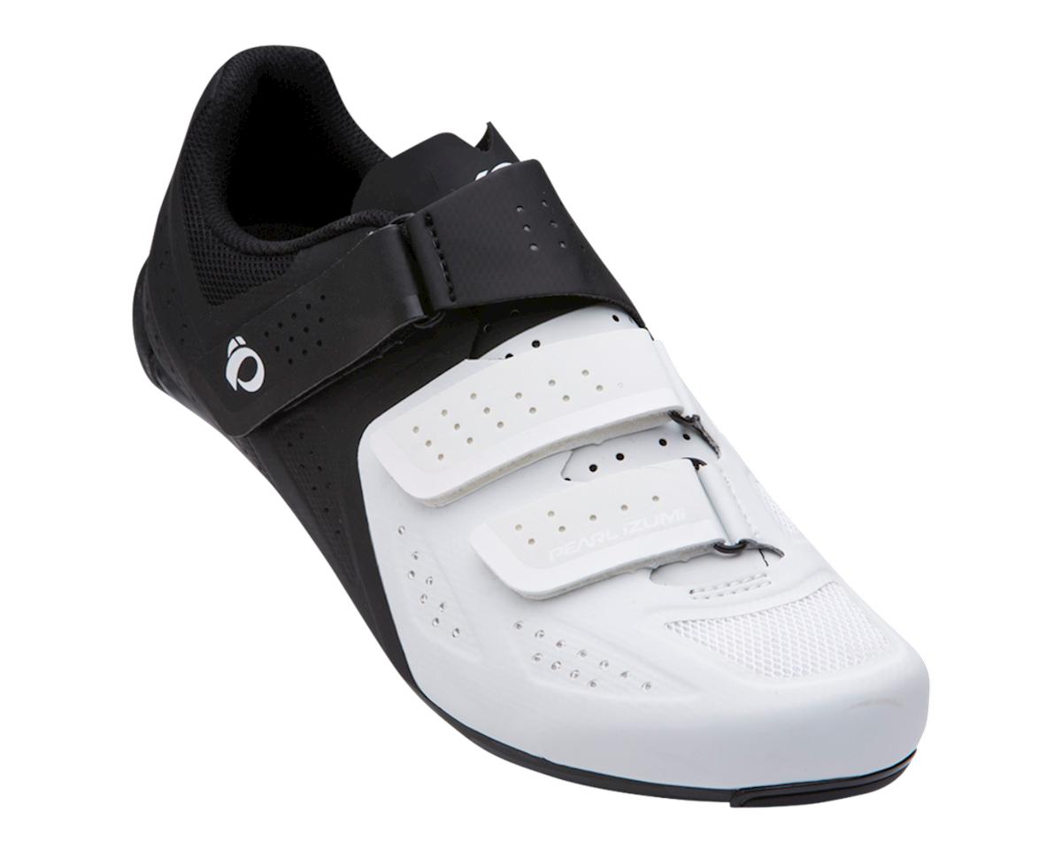 Pearl Izumi Select Road V5 Shoes (White/Black) (51)