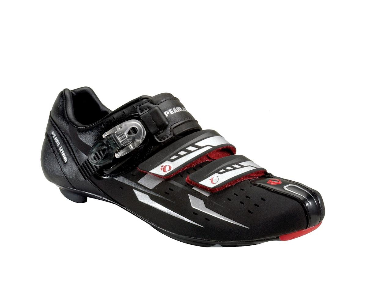 Pearl Izumi Elite Iii Road Shoe: Black/Silver~ Men's Euro 41