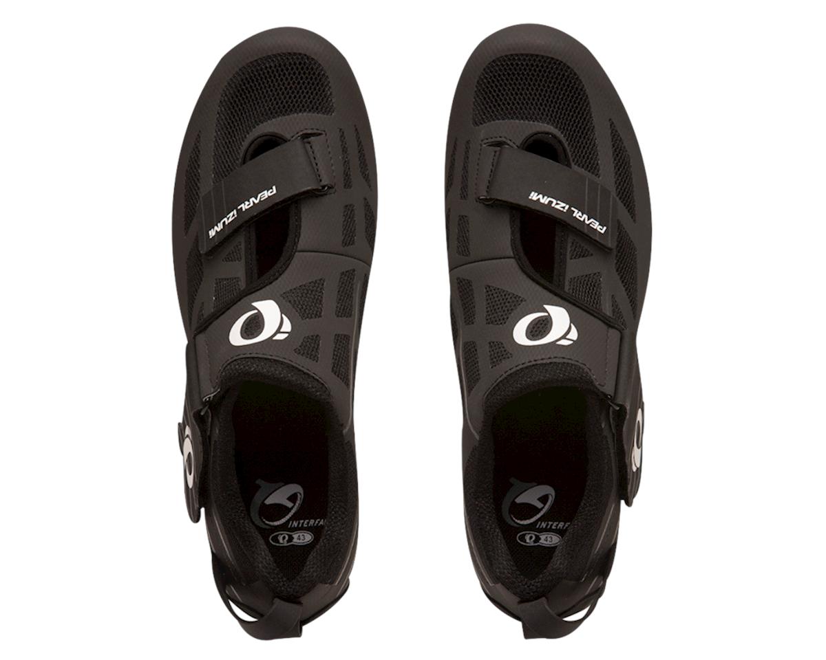 Pearl Izumi Tri Fly Select V6 Triathlon Shoes (Black/Shadow Gray) (39)