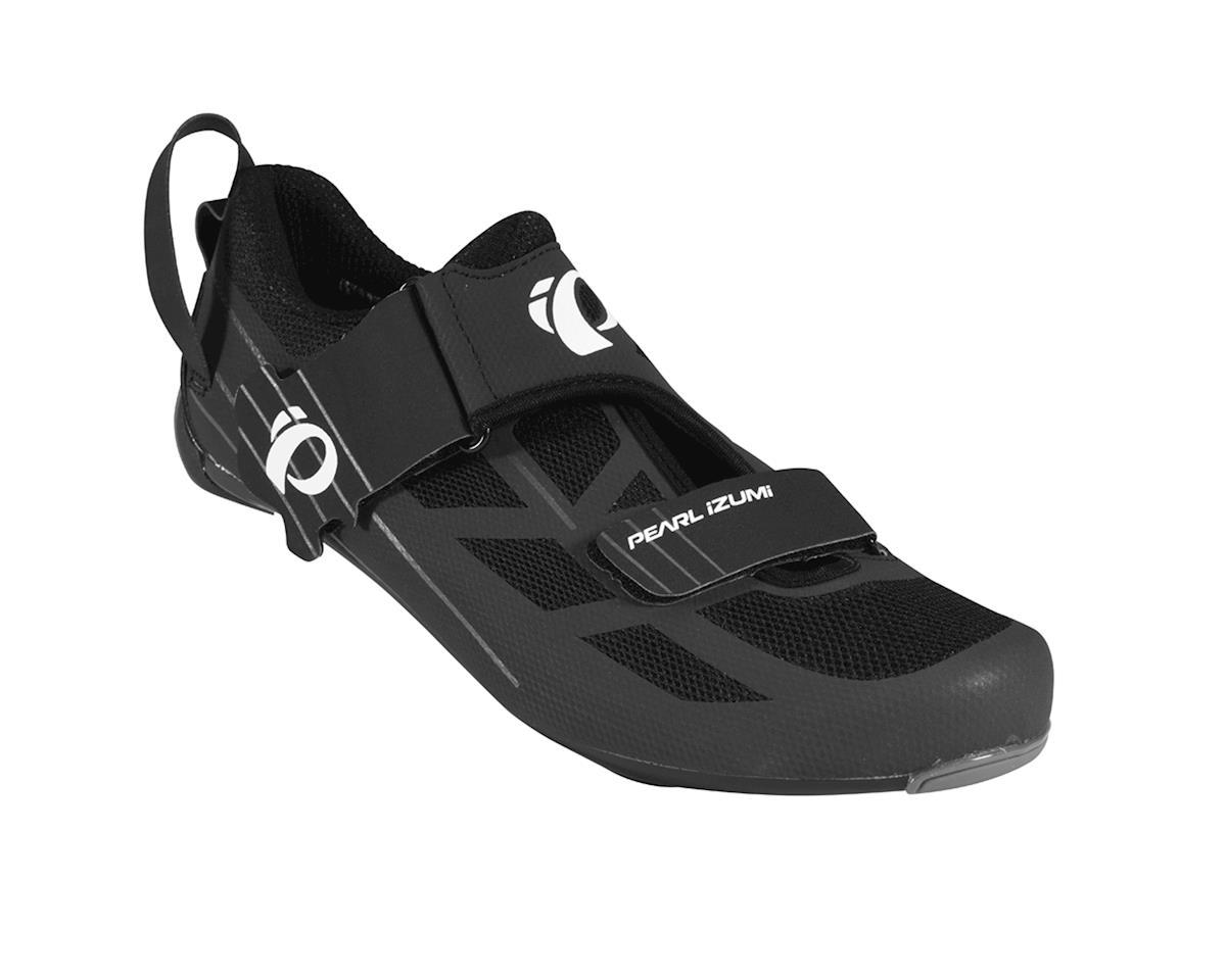 Pearl Izumi Tri Fly Select V6 Triathlon Shoes (Black/Shadow Gray) (45)