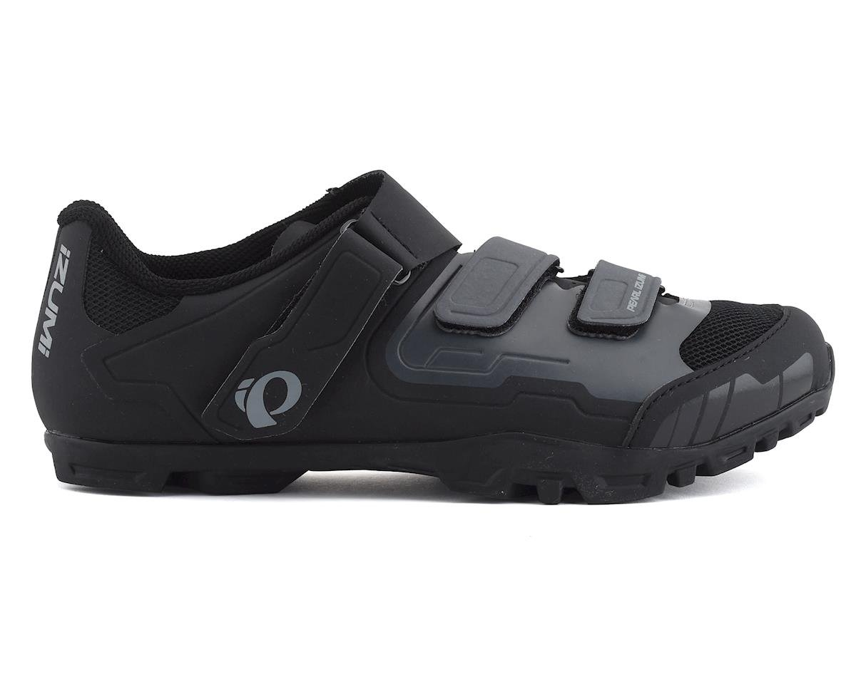 Image 1 for Pearl Izumi All-Road V4 Mountain Shoes (Black/Shadow Gray) (41)