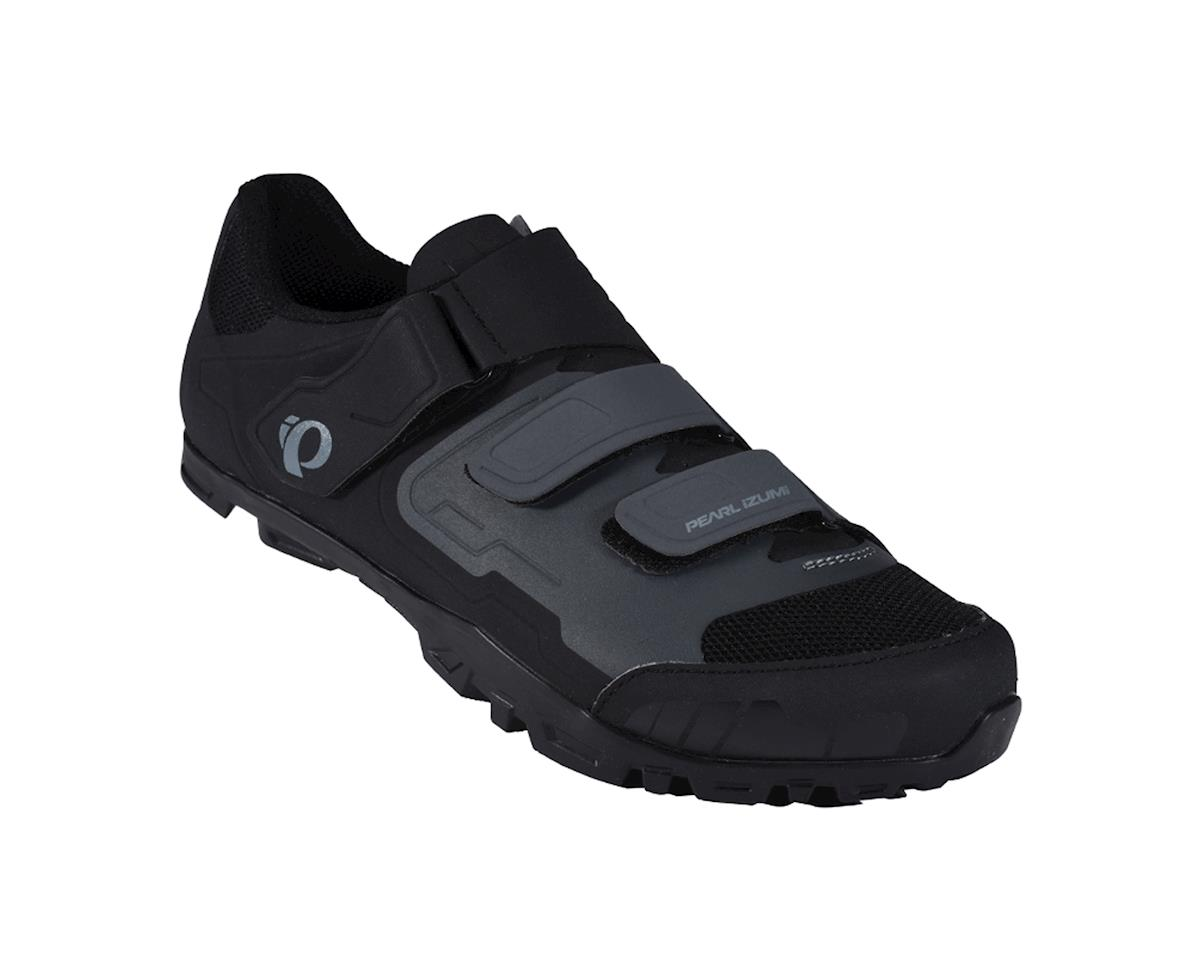 Image 1 for Pearl Izumi All-Road V4 Mountain Shoes (Black/Shadow Gray) (42)