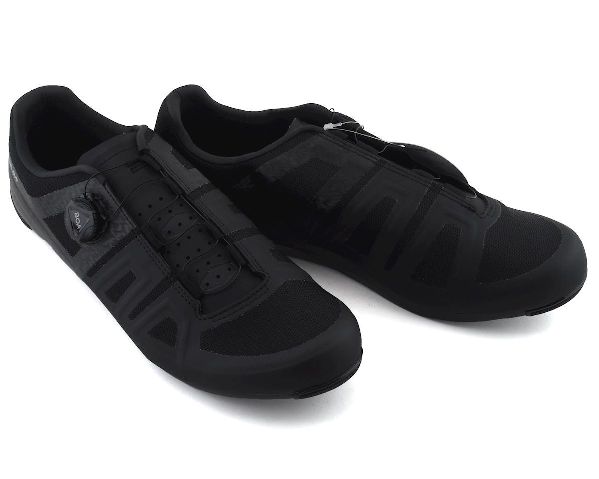 Pearl Izumi Attack Road Shoe (Black/Black) (40)