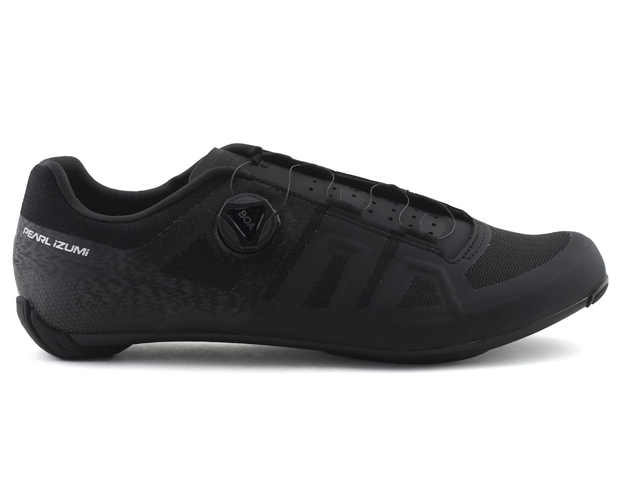 Pearl Izumi Attack Road Shoe (Black/Black) (46.5)