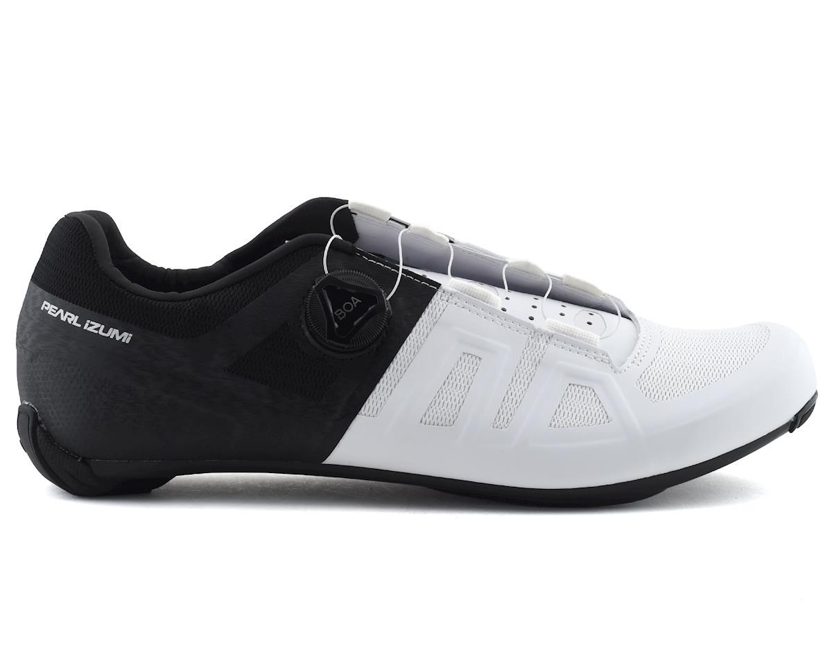 Pearl Izumi Attack Road Shoe (Black/White) (43)