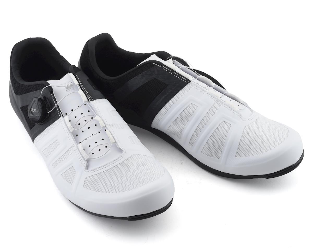 Pearl Izumi Attack Road Shoe (Black/White) (44)