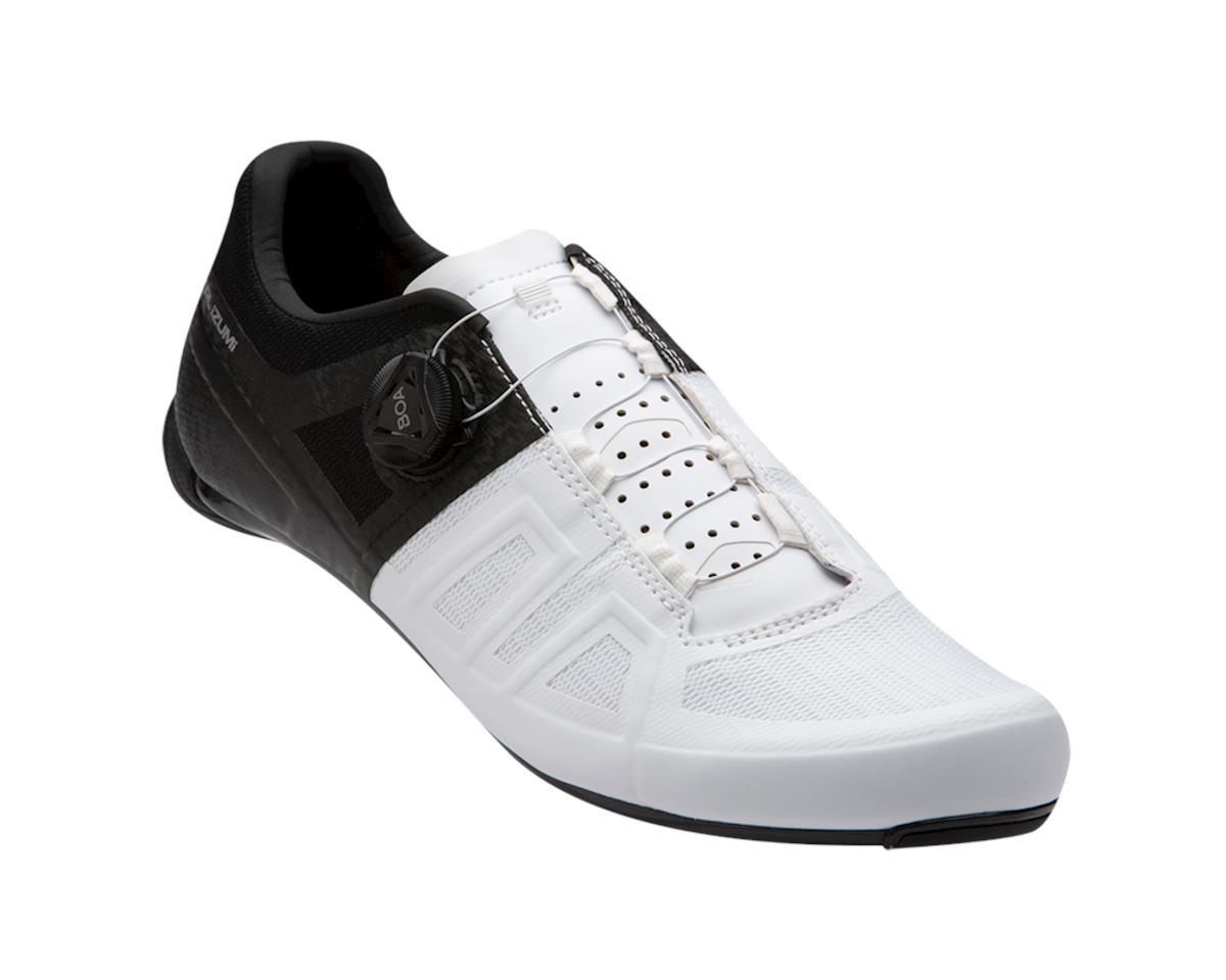 Pearl Izumi Attack Road Shoe (Black/White) (45.5)