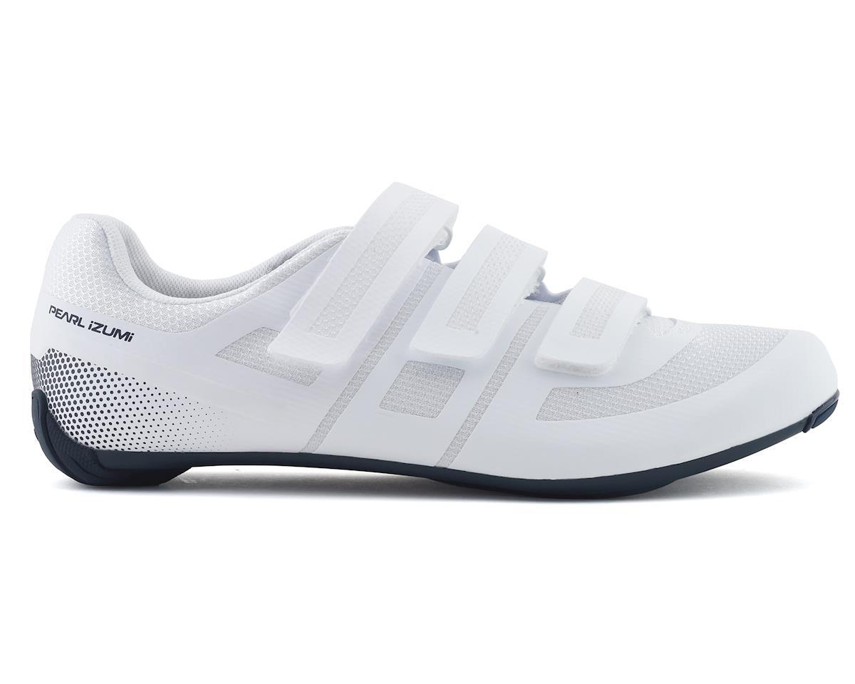 Pearl Izumi Quest Road Shoe (White/Navy) (44)