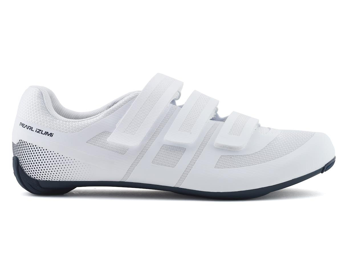 Pearl Izumi Quest Road Shoe (White/Navy) (45)