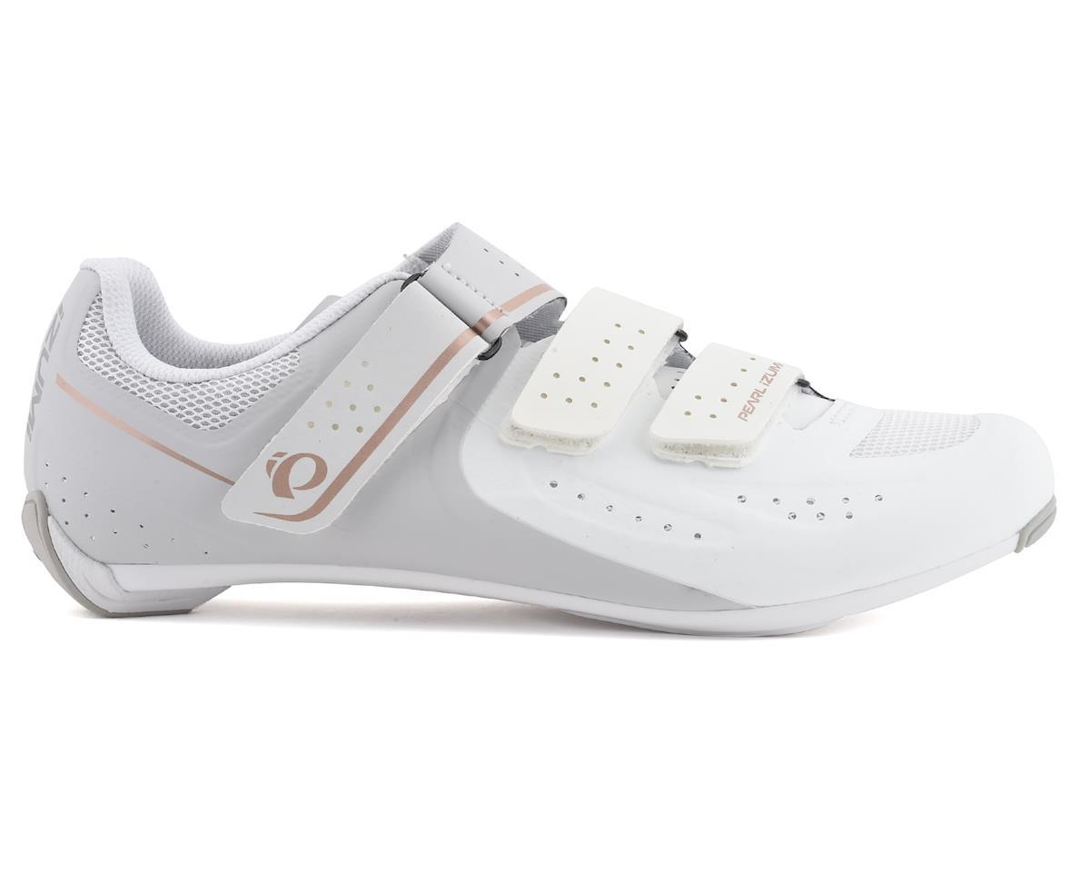 Pearl Izumi Womens Select Road V5 Shoes (White/Grey) (40)