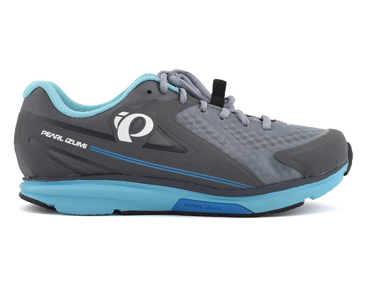Pearl Izumi Womens X-Road Fuel Shoes (Smoked Pearl/Monument Grey) (40)