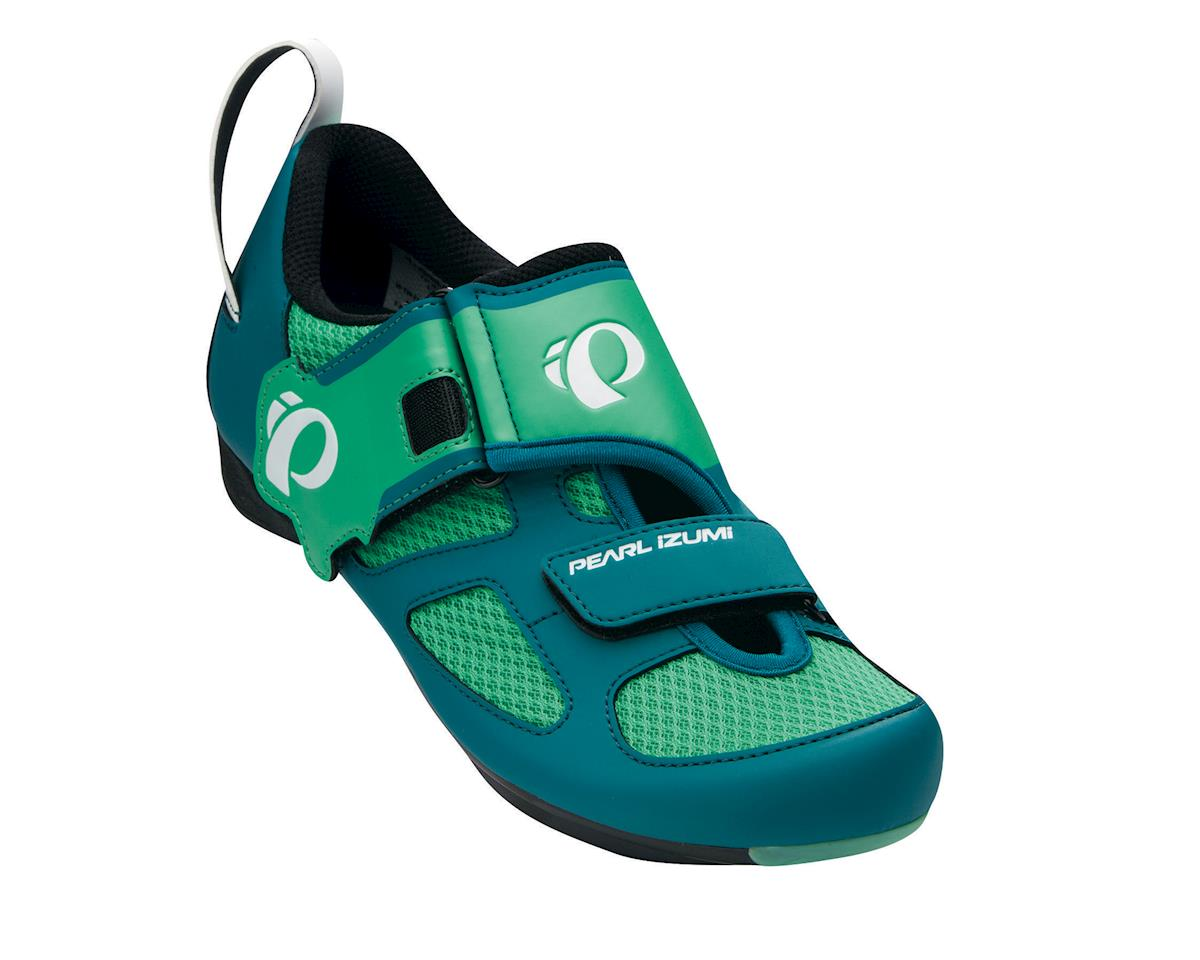 Pearl Izumi Women's Tri Fly V Triathlon Shoes (Green) (43)