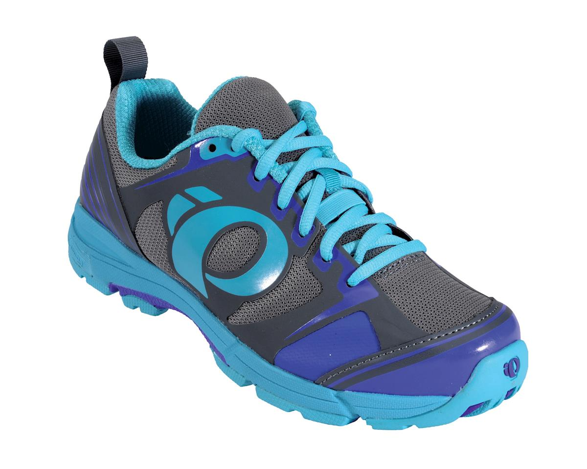 Pearl Izumi Women's X-Road Fuel III Mountain Shoes (Blue/Gray)