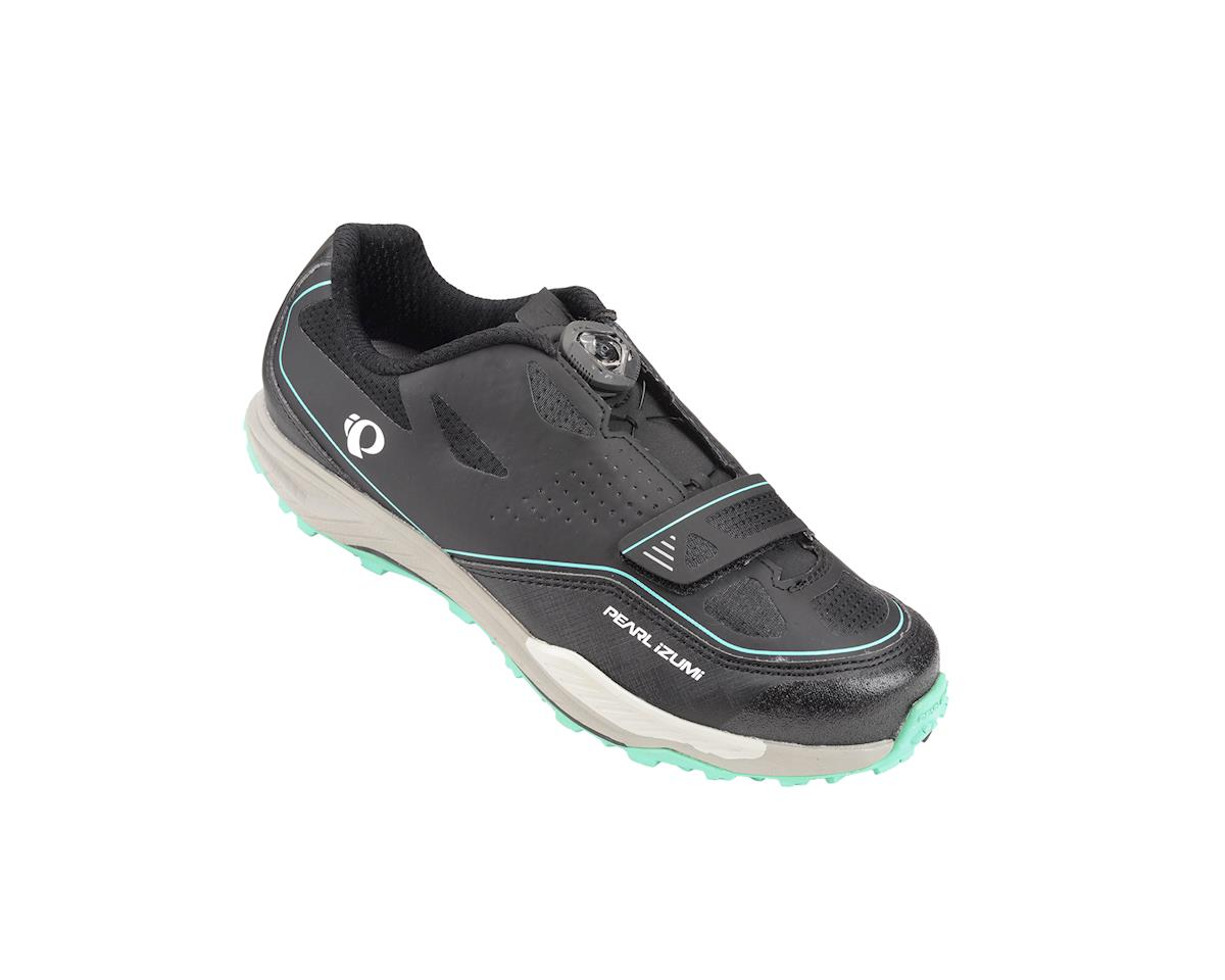 Pearl Izumi Women's X-Alp Launch II MTB Shoes (Black/Grey) (42)