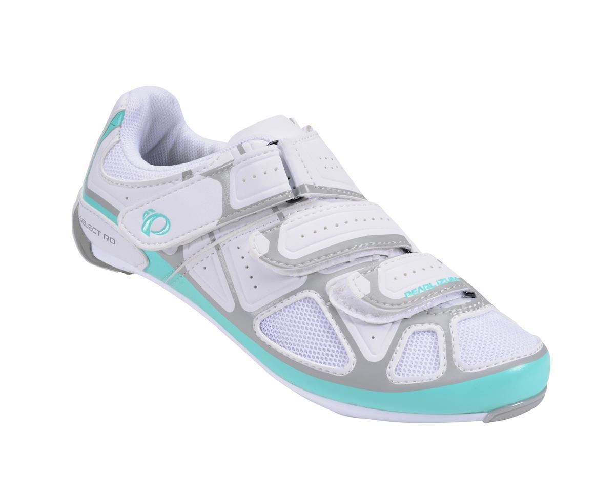 Image 1 for Pearl Izumi Women's Select RD IV Shoes (White/Aqua Mint) (40)