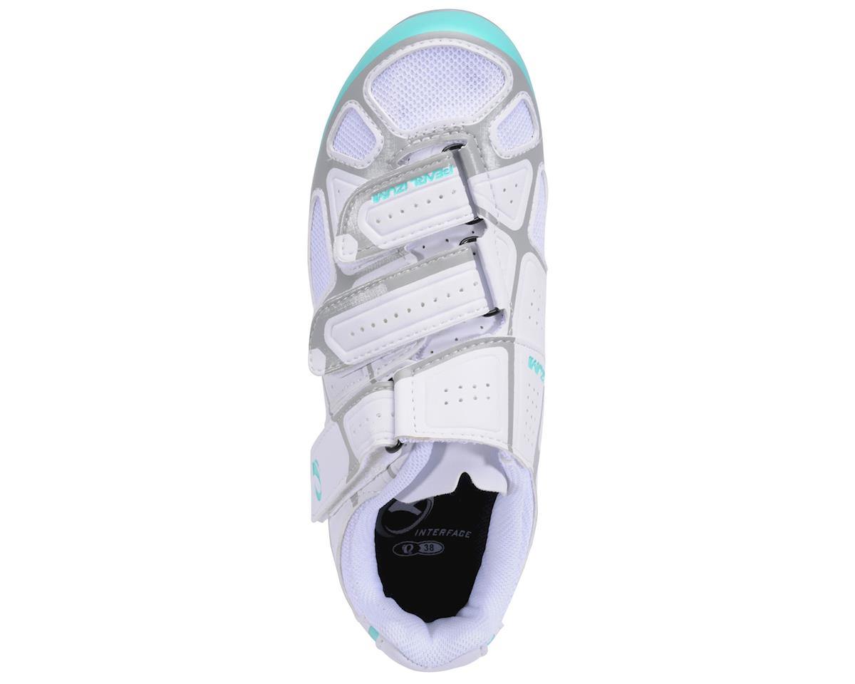 Image 3 for Pearl Izumi Women's Select RD IV Shoes (White/Aqua Mint) (40)