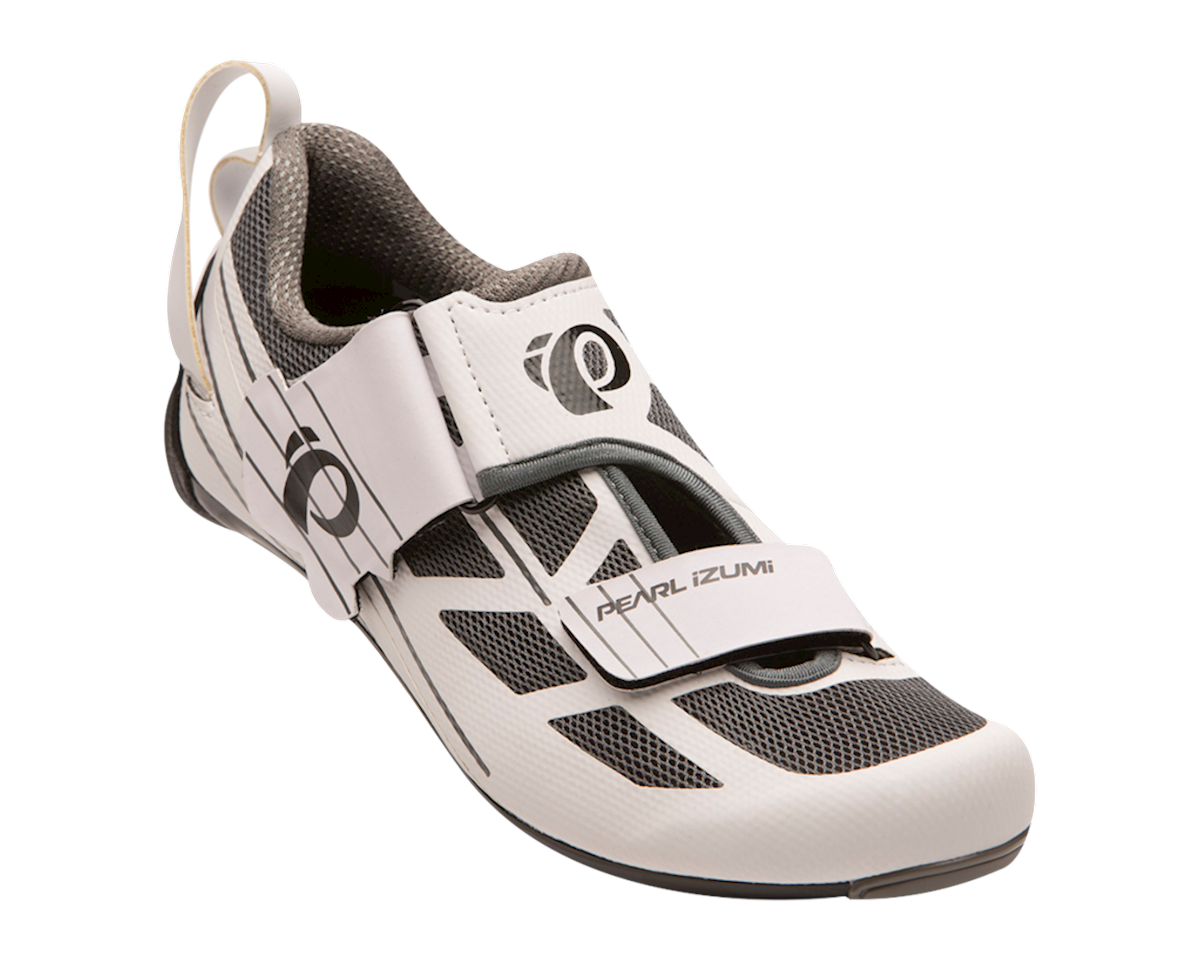 Pearl Izumi Women's Tri Fly Select v6 (White/Shadow Grey) (40)