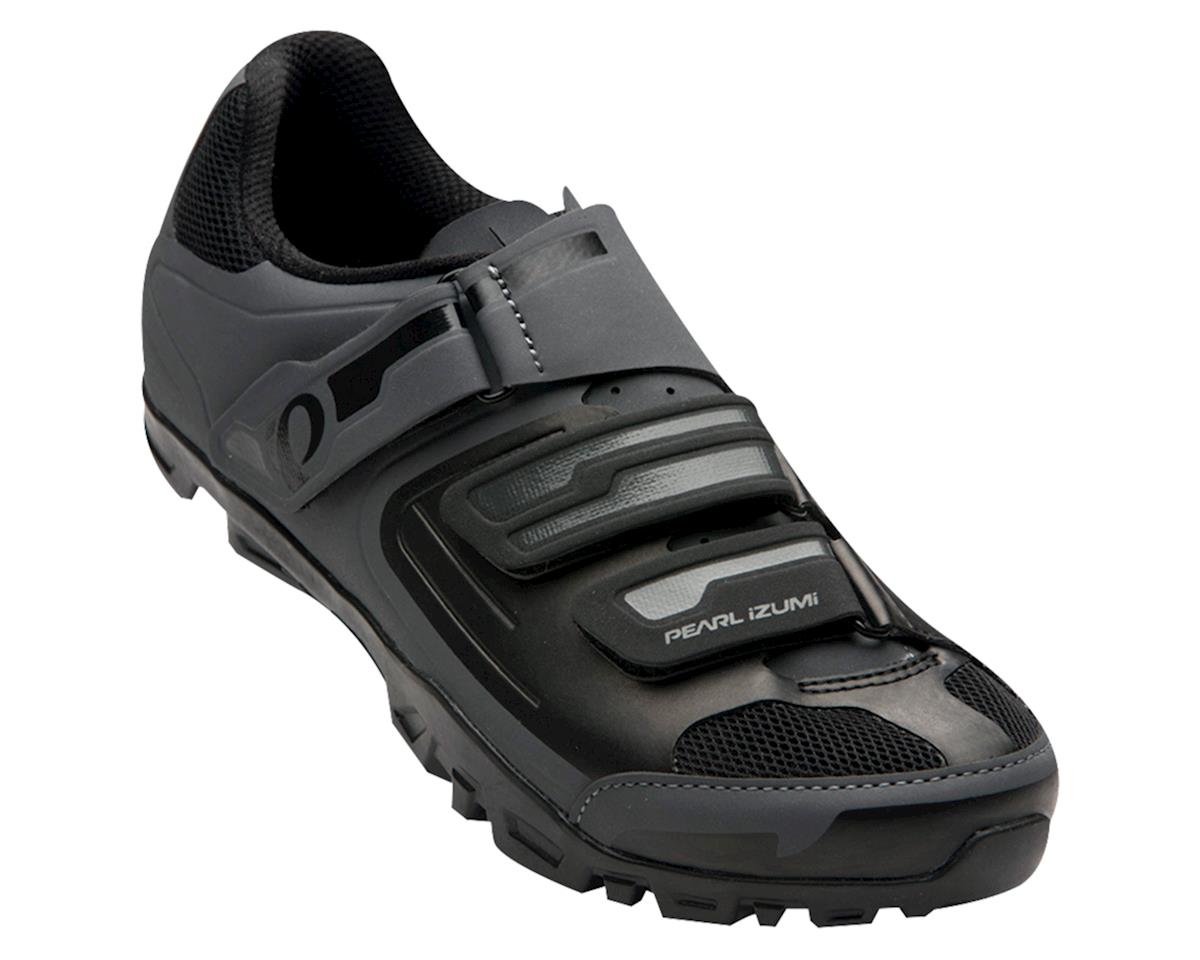 Pearl Izumi Women's All-Road v4 Mountain Shoes (Black/Grey) (42)