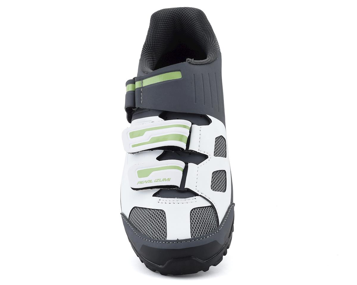 Image 3 for Pearl Izumi Women's All-Road v4 Mountain Shoes (White/Grey) (43)