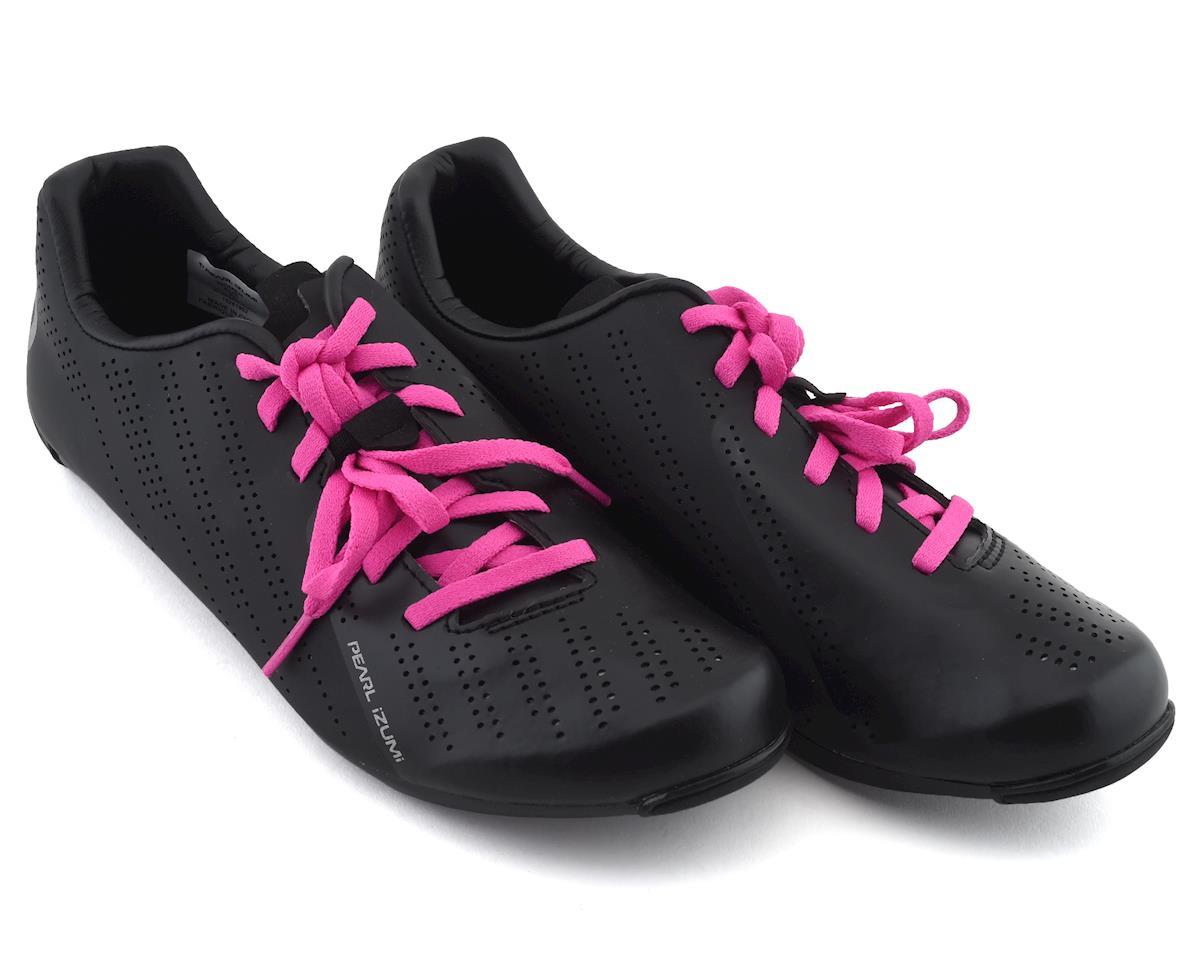 Pearl Izumi Womens Sugar Road Shoes (Black/Pink) (39)