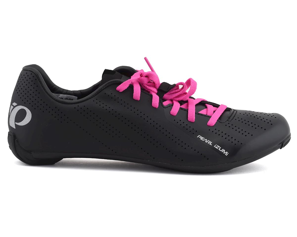 Pearl Izumi Womens Sugar Road Shoes (Black/Pink) (40.5)