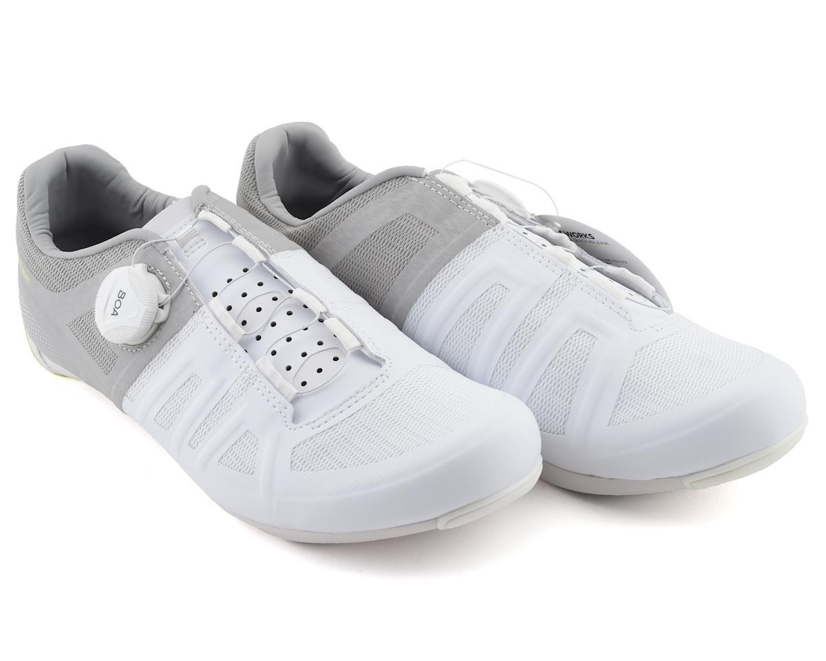 Pearl Izumi Women's Attack Road Shoe (White/Grey) (39)