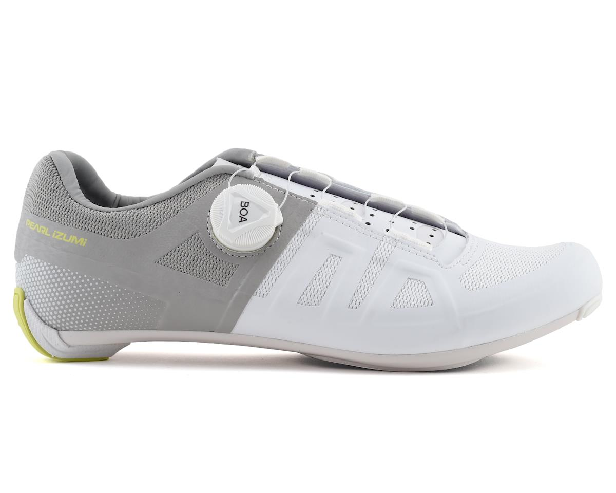 Pearl Izumi Women's Attack Road Shoe (White/Grey) (40.5)