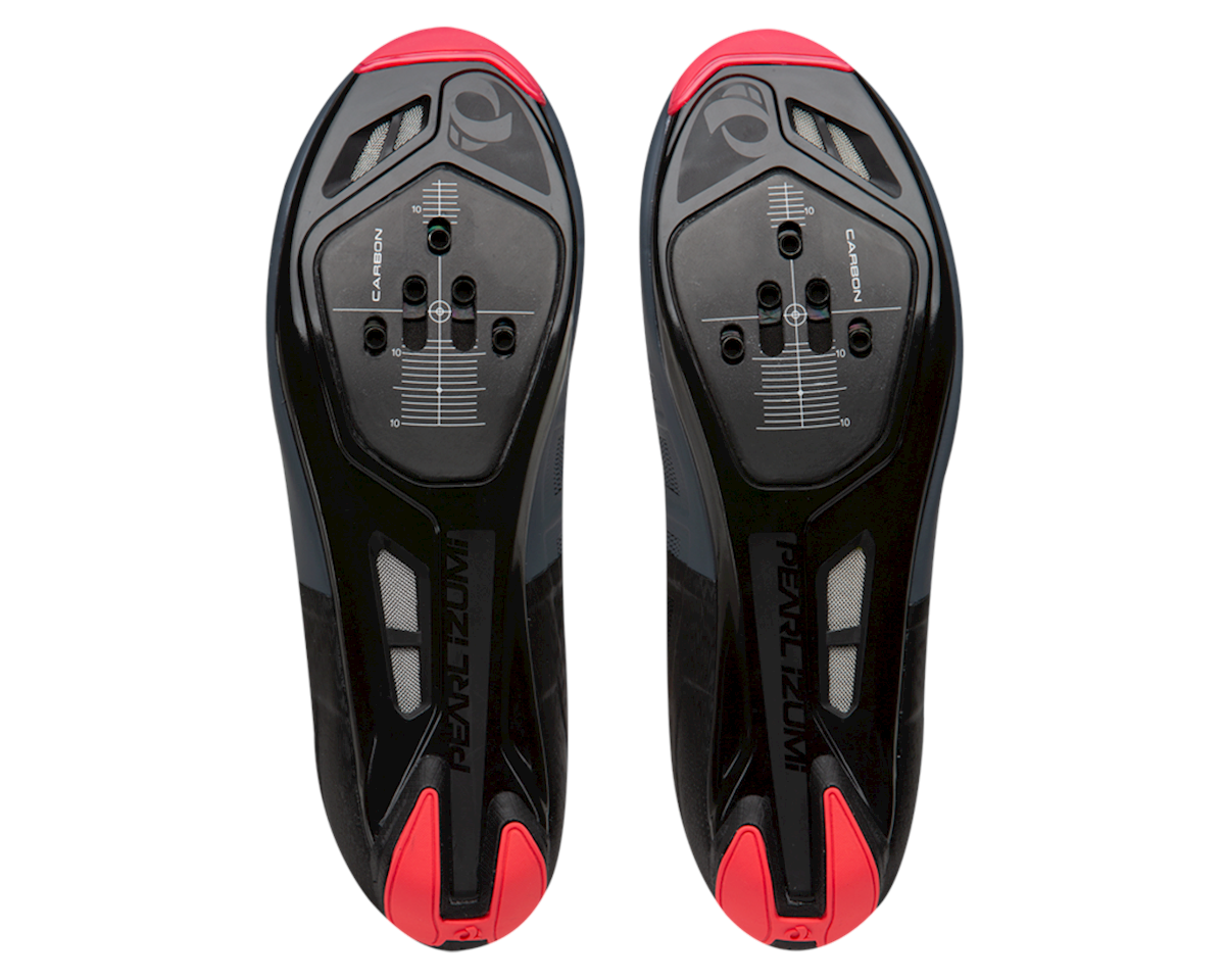 Pearl Izumi Women's Attack Road Shoe (Black/Atomic Red) (42.5)
