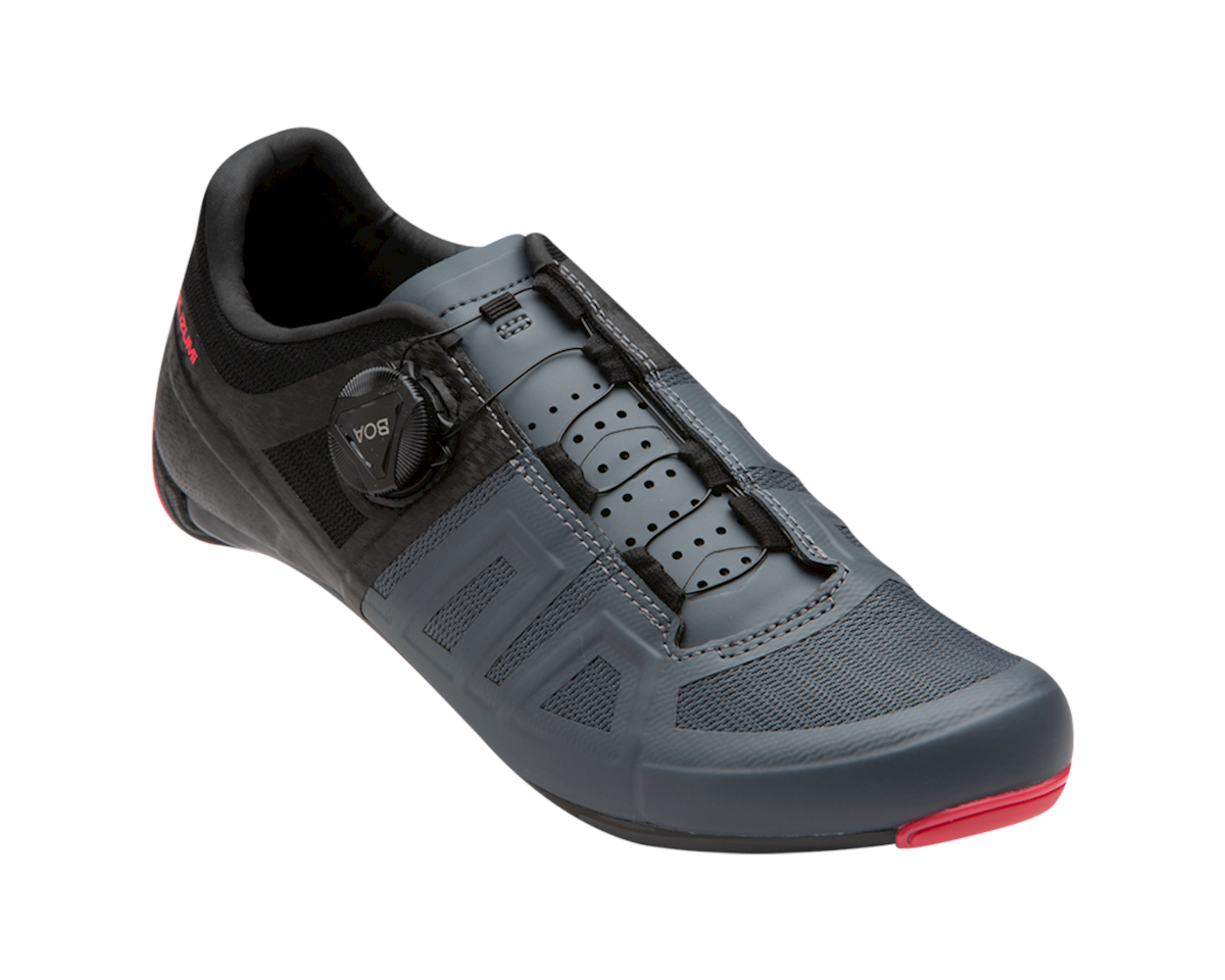 Image 1 for Pearl Izumi Women's Attack Road Shoe (Black/Atomic Red) (43)
