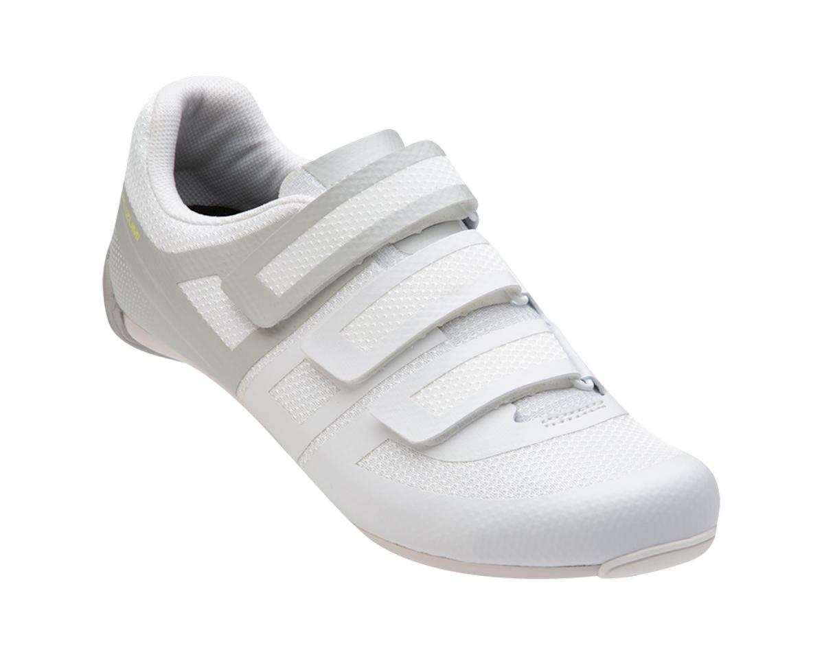Pearl Izumi Women's Quest Road Shoe (White/Fog) (36)