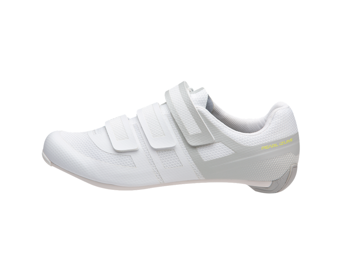 Image 2 for Pearl Izumi Women's Quest Road Shoe (White/Fog) (36)