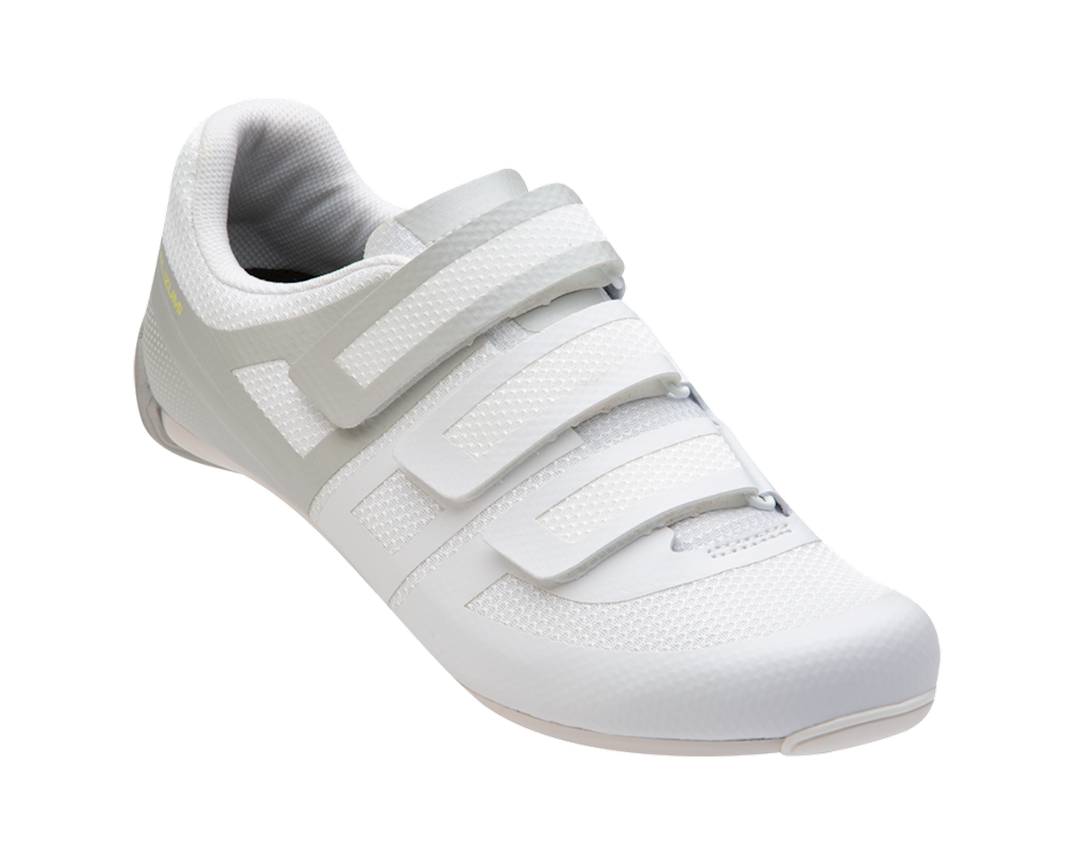 Image 1 for Pearl Izumi Women's Quest Road Shoe (White/Fog) (41)