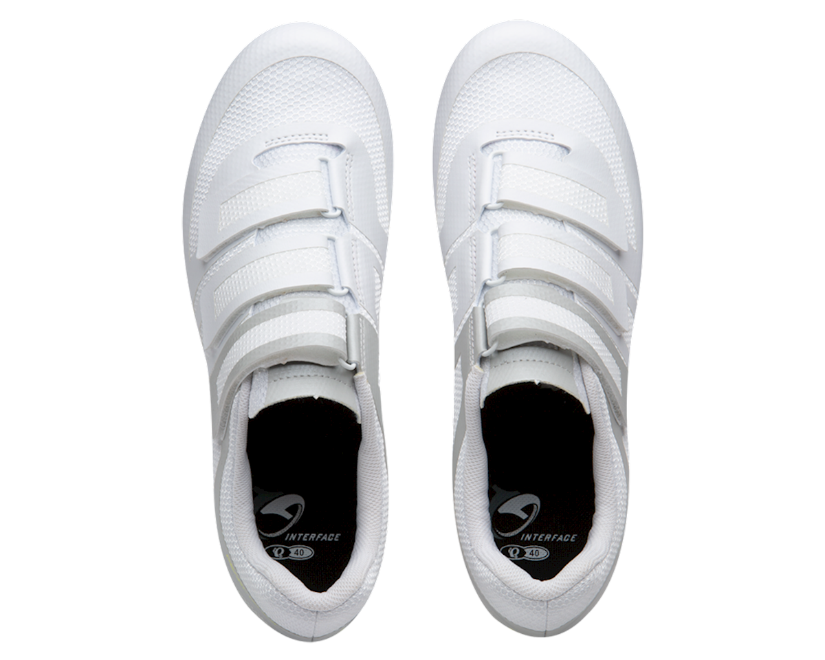 Image 4 for Pearl Izumi Women's Quest Road Shoe (White/Fog) (41)