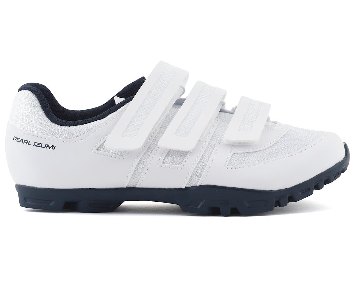 Pearl Izumi Women's All Road v5 Road Shoe (White/Navy) (40)